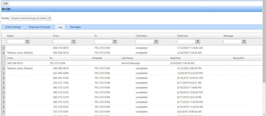 CareLine Call Routing